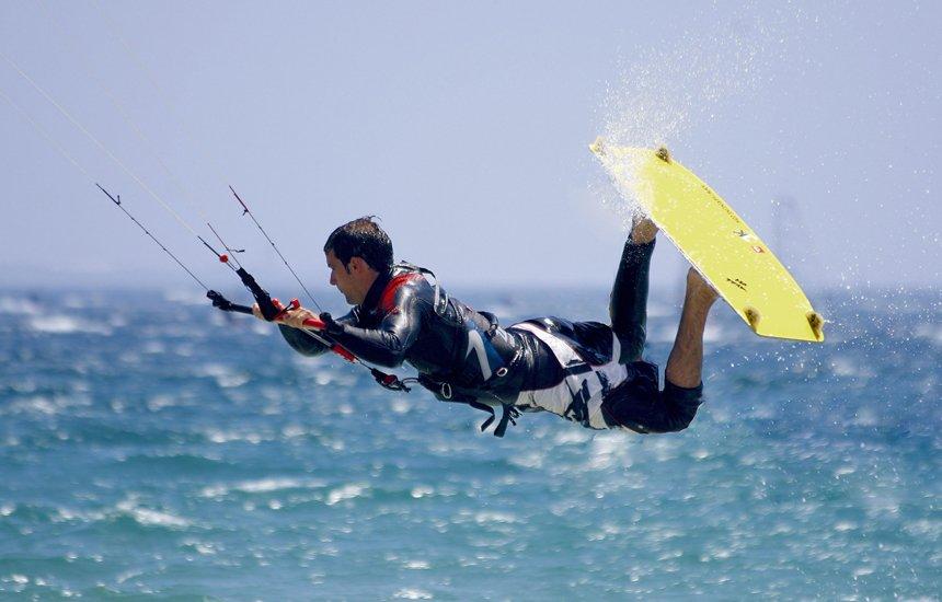 Кайтсерфинг в Испании