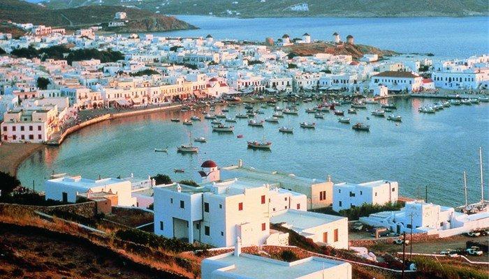 Отдых осенью в Греции