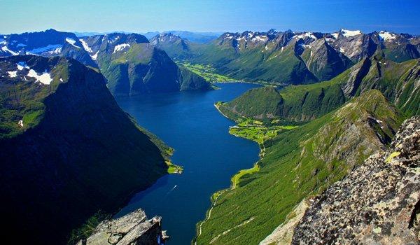 Норвегия осенью