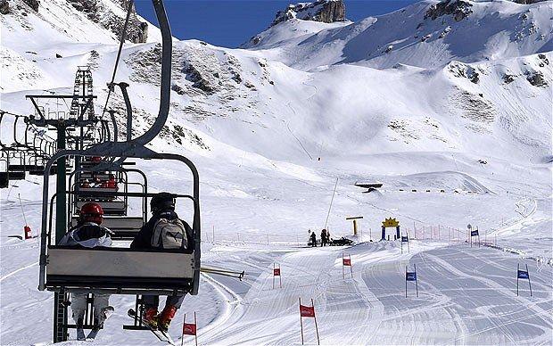 Лыжи в Червинии