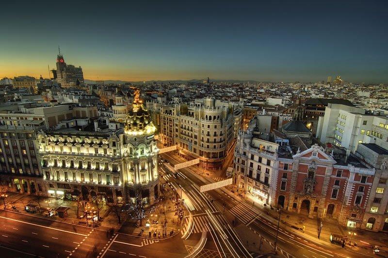 Мадрид осенью