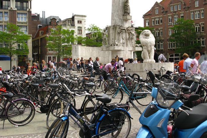 Амстердам велосипеды