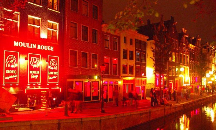 Вулиця Червоних ліхтарів Амстердам